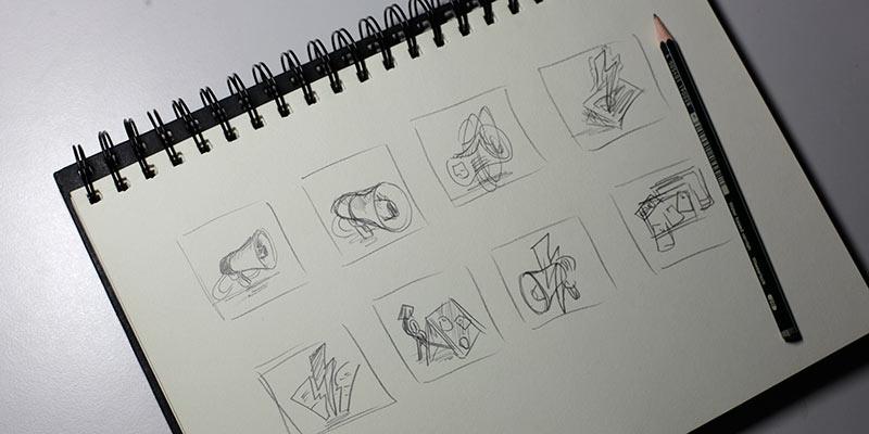 Skizzen anfertigen