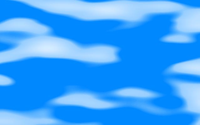Wolken mit Transparenz