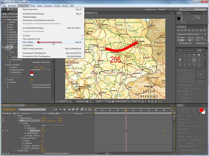 Video rendern