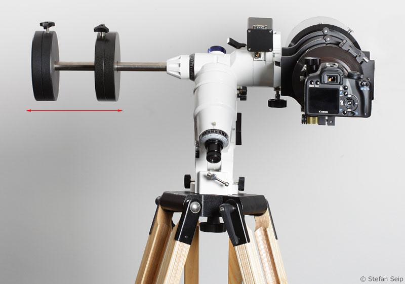 Tutorial teil 09 handhabung einer astronomischen montierung