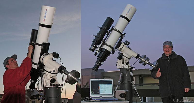 Astronomie dobson teleskop