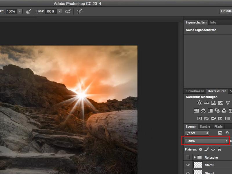 Tutorial Looks & Styles mit Photoshop - Gegenlicht und Flares