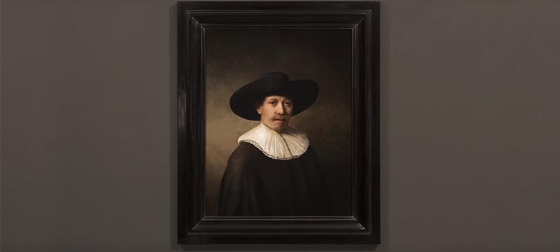 Ein neues Gemälde im Stile Rembrandts