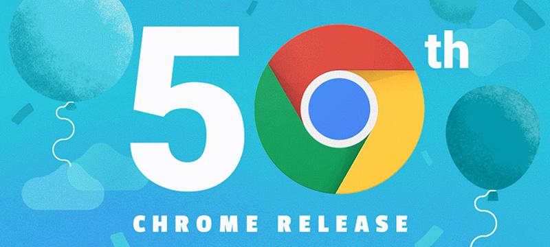 50 Versionen Chrome