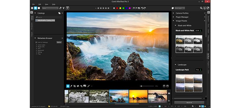 Corel veröffentlicht AfterShot Pro 3