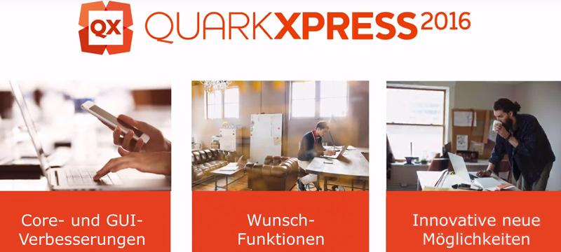 QuarkXPress 2016: Auslieferung ab dem 24. Mai