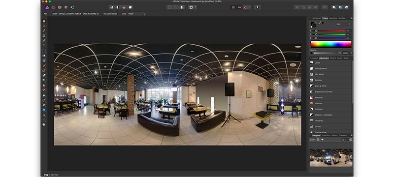 Affinity Photo 1.5 angekündigt