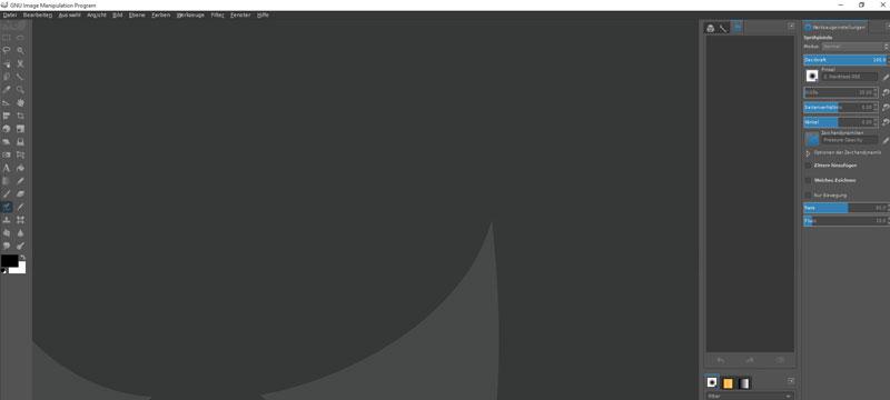 GIMP werde zu Photoshop