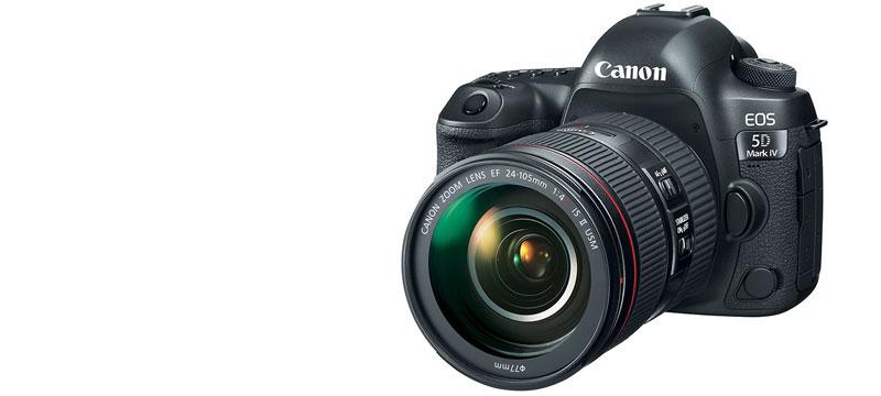 Neue Spiegelreflexkamera: EOS 5D Mark IV
