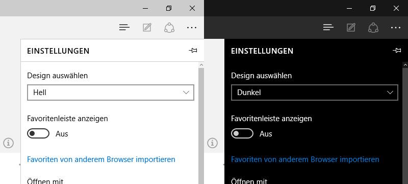 Dark Theme in Windows 10 aktivieren