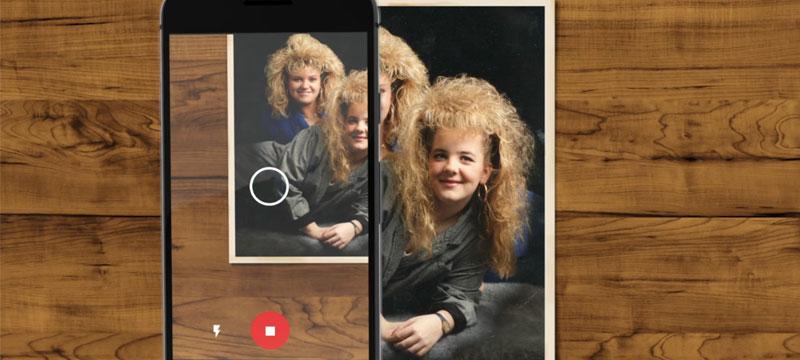 Google-App zum Scannen von Fotos