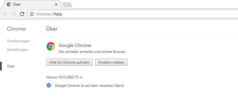 Chrome 55: Flash wird geblockt, Lücken werden geschlossen, weniger Speicherverbrauch