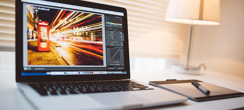 Programme zur Bildbearbeitung, Video-Konvertierung und -Bearbeitung, zum Vorher-nachher-Vergleich
