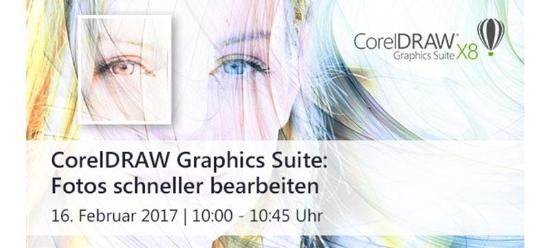 Webinar zu Corel PHOTO-PAINT mit Ralf Fischer