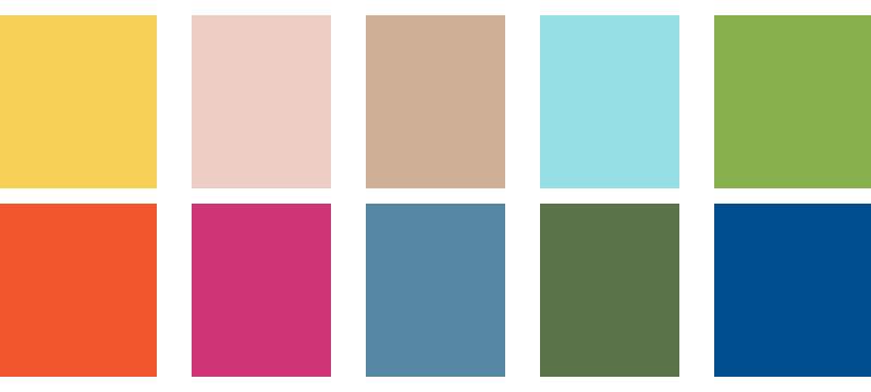 Pantone-Frühlingsfarben als ASE-Datei