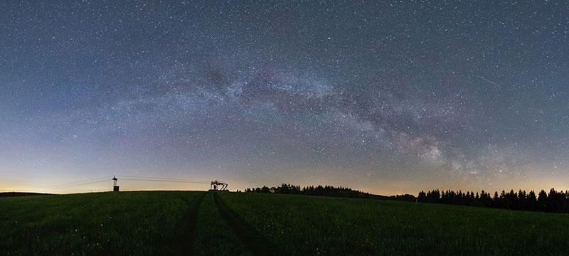 Der Nachthimmel – zwei Videos