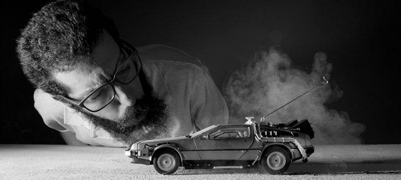 Zurück in die Zukunft & Ghostbusters: Auto-Berühmtheiten in Szene gesetzt