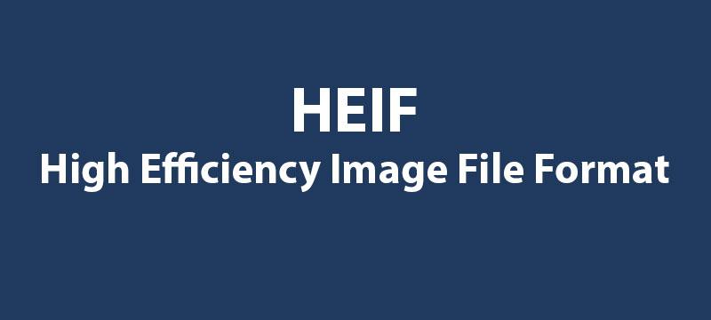 HEIF – ein Blick auf das High Efficiency Image File Format