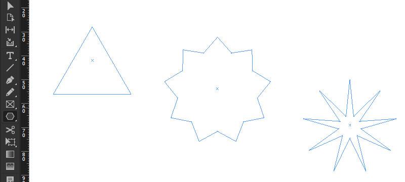 InDesign: Polygone per Tastendruck duplizieren und in ihrer Form verändern