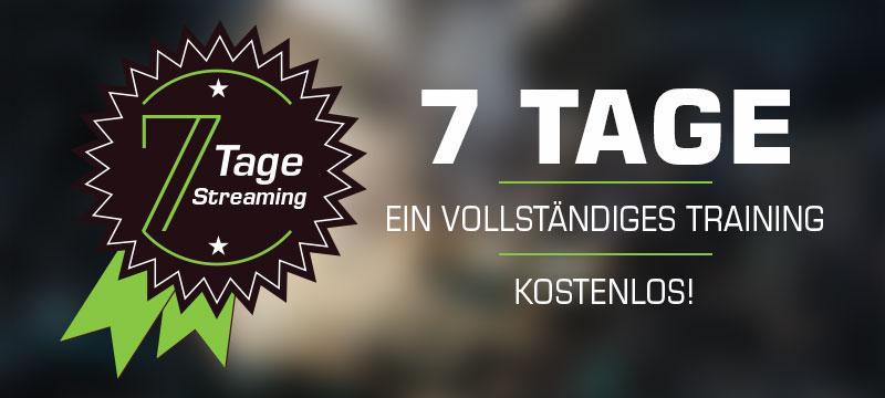 7-Tage-Streaming: ein vollständiges Training kostenlos ansehen