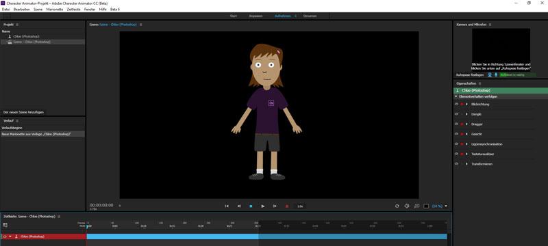 Neues im Bereich Animation & Audio bei Adobe: Audition CC und Character Animator CC