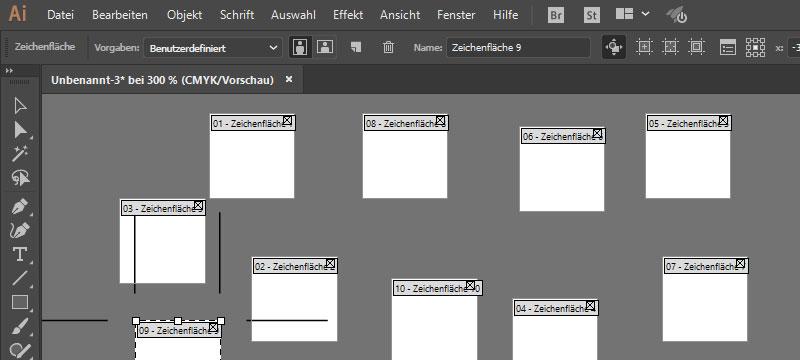 """Mehr Zeichenflächen für Illustrator & """"Branded Stories"""" für Adobe Spark"""