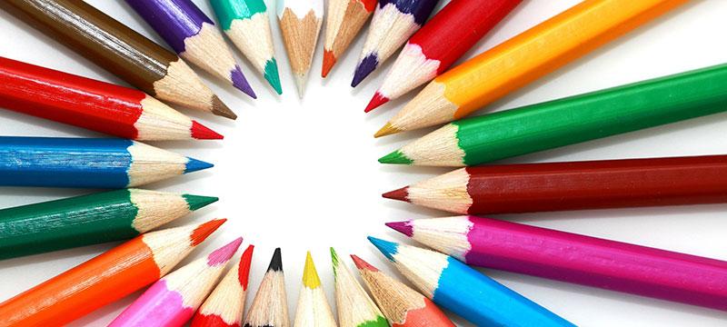 David Aerne sammelt die Namen der Farben