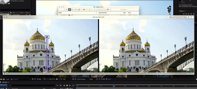 Inhaltsbasiertes Füllen für Videos – in Entwicklung bei Adobe