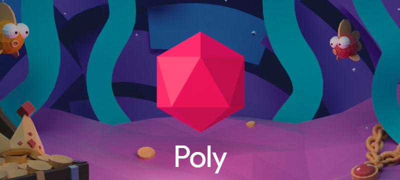 Google startet Plattform Poly zum Tausch von 3D-Objekten
