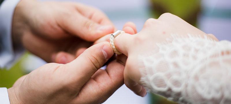 Eine Fake-Hochzeit zur Erstellung von Werbematerial für Dienstleister