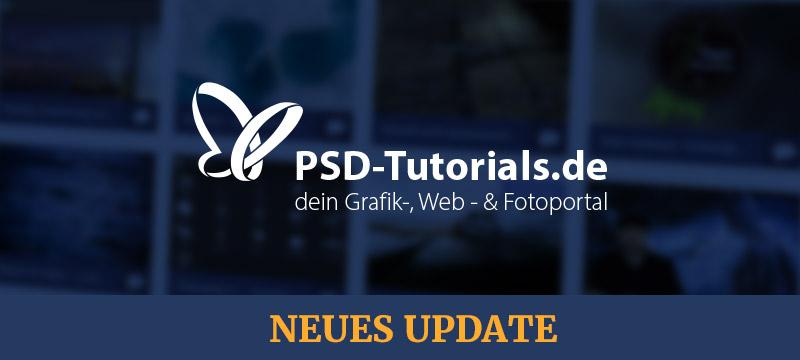 Ein neues Update für PSD-Tutorials