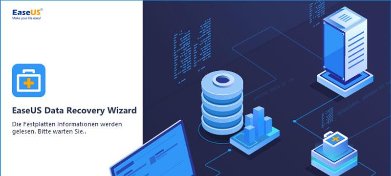 Gelöschte Daten wiederherstellen mit EaseUS Data Recovery Wizard