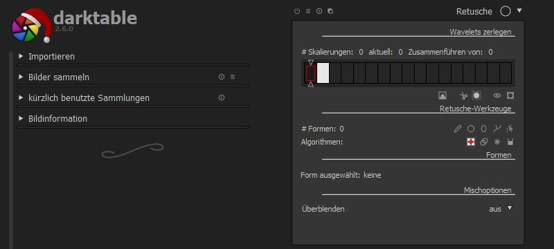 darktable 2.6 veröffentlicht