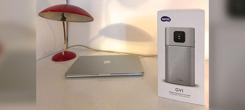 BenQ GV1: portabler Projektor für Video und Audio