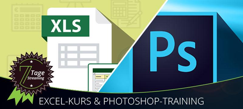 Kostenlose Tutorials: Photoshop-Grundlagen und Excel-Spezialitäten