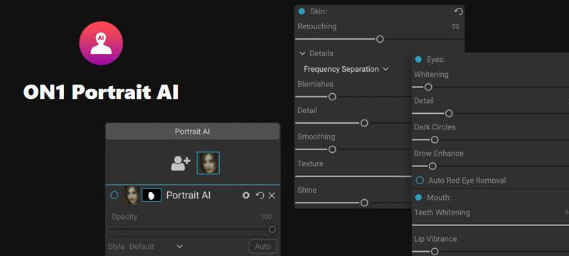 ON1 Portrait AI: spezialisiert auf die Porträtretusche