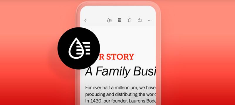 Verbessertes Lesen von PDFs auf Mobilgeräten:  Adobe führt Liquid Mode ein
