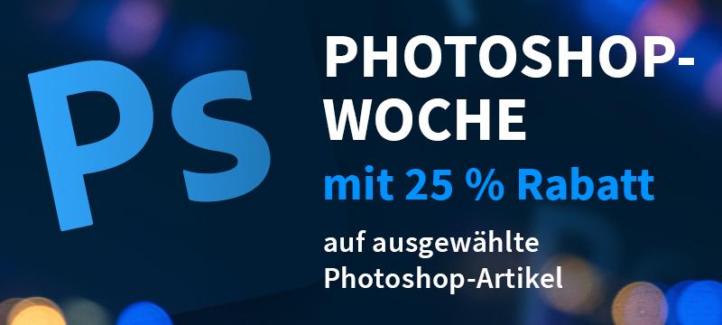 Photoshop-Woche: 25 % Rabatt