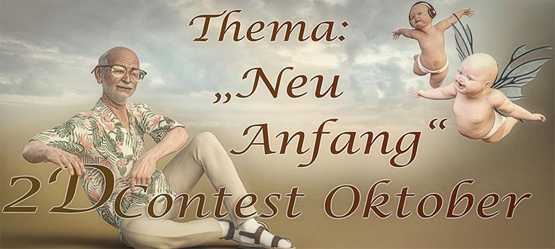 """VOTING [2D] Monats Contest Oktober 2020: Thema """"Neu Anfang"""""""