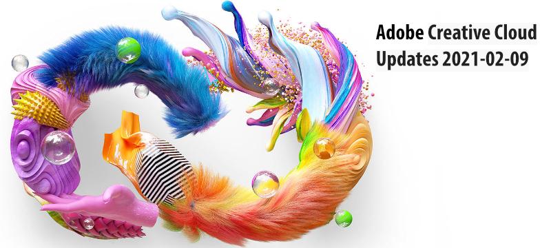 Updates für Adobe Creative Cloud Programme