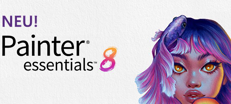 Corel® Painter® Essentials™ 8 ist da!