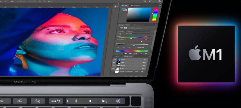 Nativer Photoshop für Apple M1-Prozessor