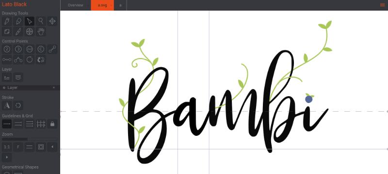 BirdFont: Font-Erstellung für Mac, Win und Linux