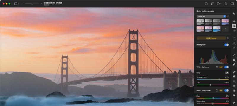 LUT in Pixelmator Pro 2.0.8