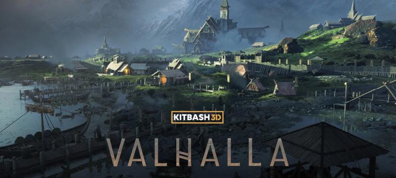 """Unglaublich! Schon wieder ein Kitbash :  """"Valhalla"""""""