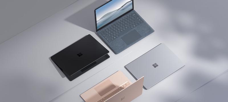 Microsoft Surface Laptop 4 in 10 Konfigurationen