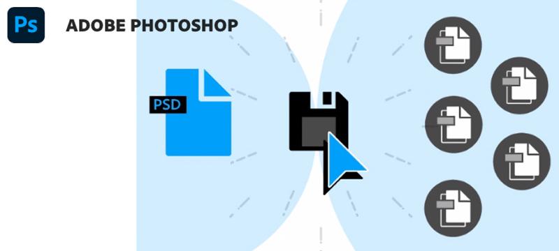 Photoshop (22.4): Speichern einer Kopie