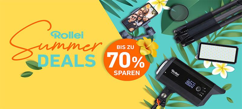 Summer Deals: Sparen Sie jetzt bis zu 71% bei Rollei