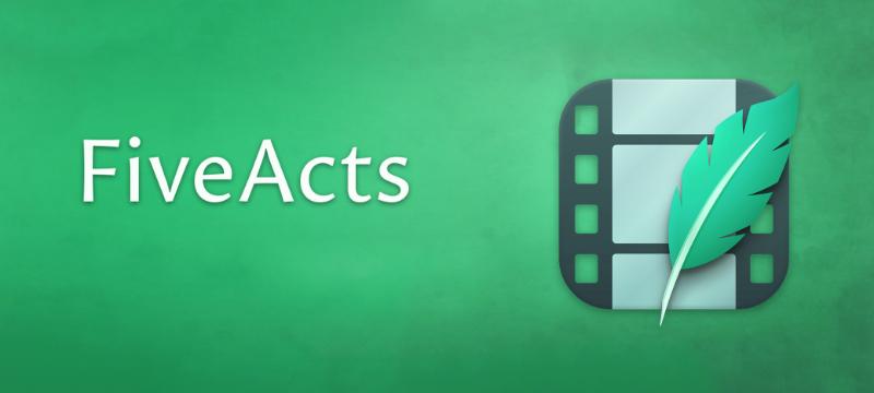 FiveActs – Neues Drehbuchprogramm aus Deutschland
