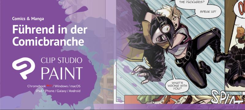 Clip Studio Paint – Zeichensoftware für Kunst und Kreativität